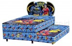 Kasur Bigland BATMAN AND ROBIN TWIN BED